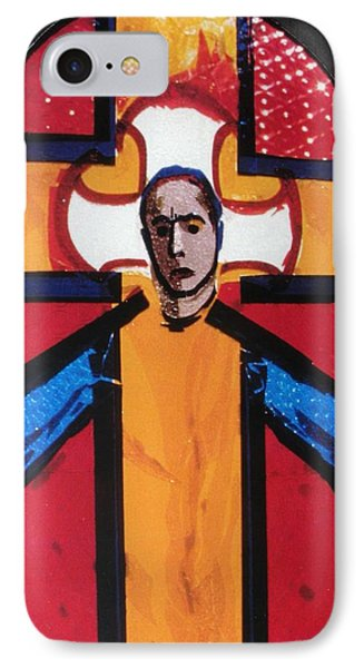 C03. Close Up Of One Mural IPhone Case