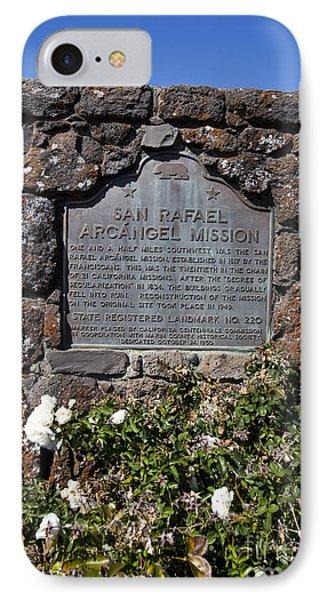 Ca-220 San Rafael Arcangel Mission Phone Case by Jason O Watson