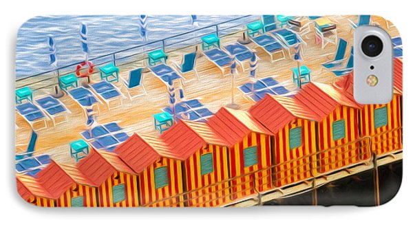 Cabanas Of Sorrento IPhone Case