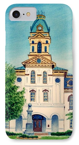 Cabarrus County Courthouse IPhone Case