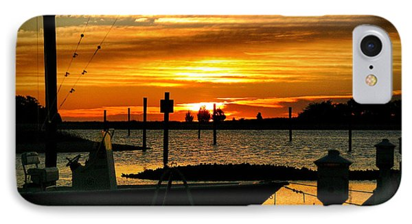 IPhone Case featuring the photograph Cabbage Inlet Sunrise II by Phil Mancuso