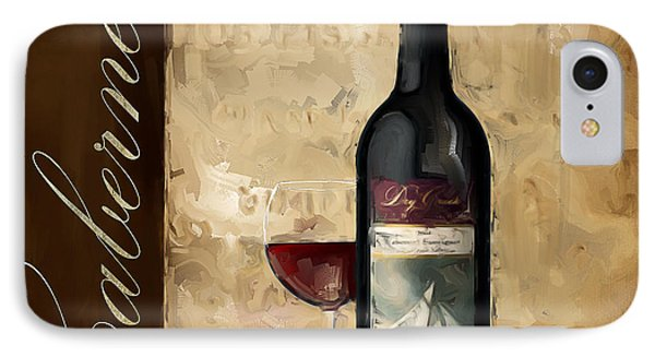 Cabernet IIi IPhone Case by Lourry Legarde