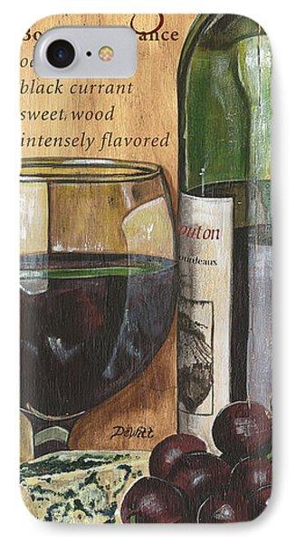 Cabernet Sauvignon IPhone 7 Case by Debbie DeWitt