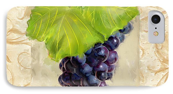 Cabernet Sauvignon II IPhone Case by Lourry Legarde