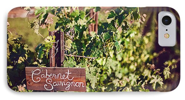 Cabernet Vineyards IPhone Case by April Reppucci