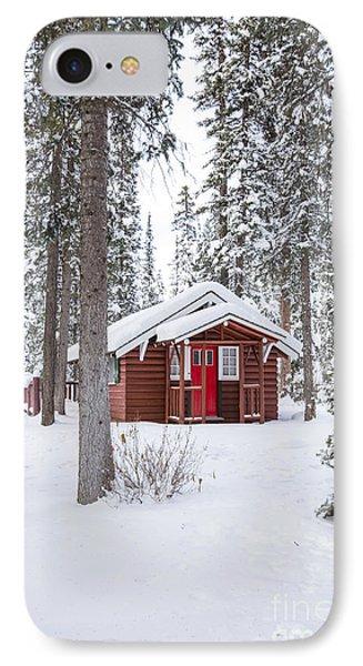 Cabin Fever IPhone Case by Evelina Kremsdorf