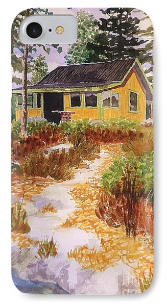 Cabin In Norway IPhone Case by Suzanne McKay