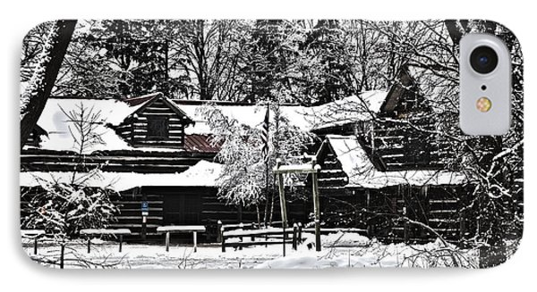 IPhone Case featuring the photograph Cabin In The Woods by Deborah Klubertanz