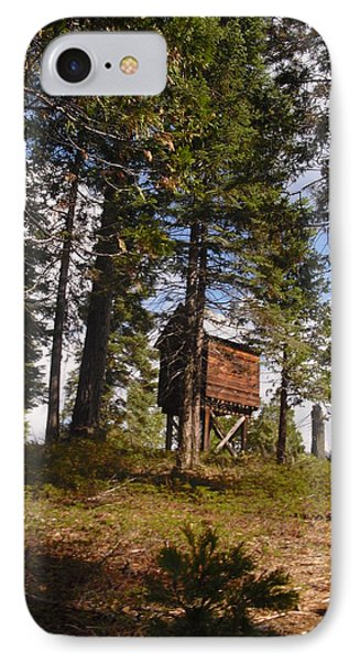 IPhone Case featuring the photograph Cabin In The Woods by Kristen R Kennedy
