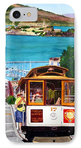 Cable Car No. 17 IPhone Case by Mike Robles
