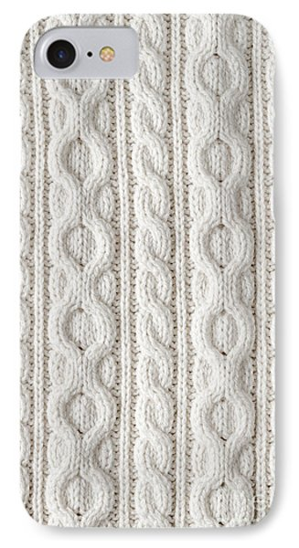 Cable Knit IPhone Case by Elena Elisseeva
