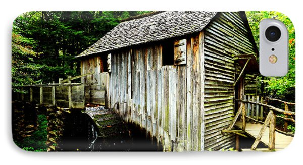Cable Mill - Cades Cove Phone Case by Stephen Stookey