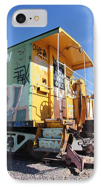 Caboose Phone Case by Diane Greco-Lesser