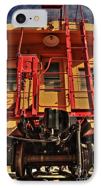 Caboose Phone Case by James Eddy