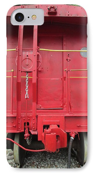 Caboose Phone Case by Randall Weidner