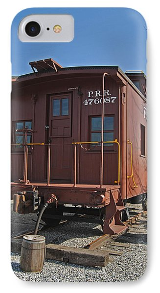 Caboose Phone Case by Skip Willits