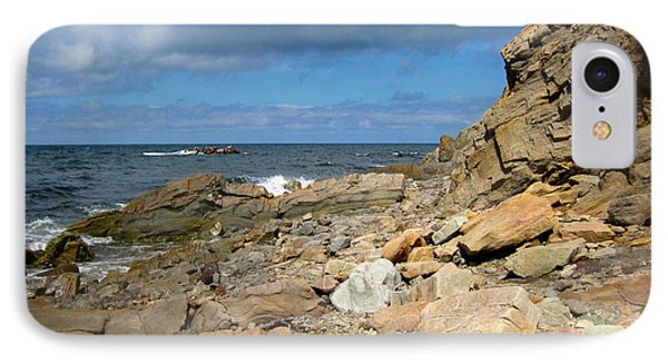 IPhone Case featuring the photograph Cabot Trail Coastline by Mario Carini