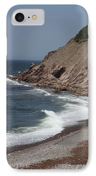 Cabot Trail Scenery IPhone Case by Robin Regan