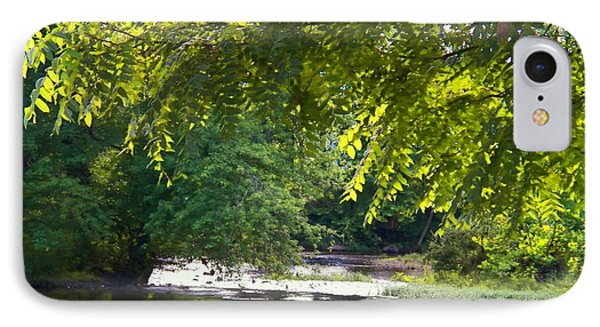 Cacapon River On  127 IPhone Case