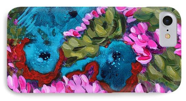 Cactus Flower Blue Bird Dream IPhone Case