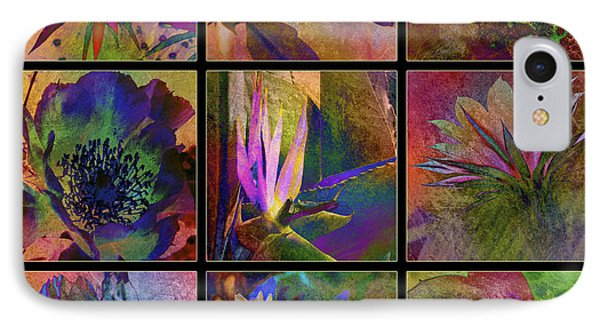 Cactus Flowers Phone Case by Barbara Berney