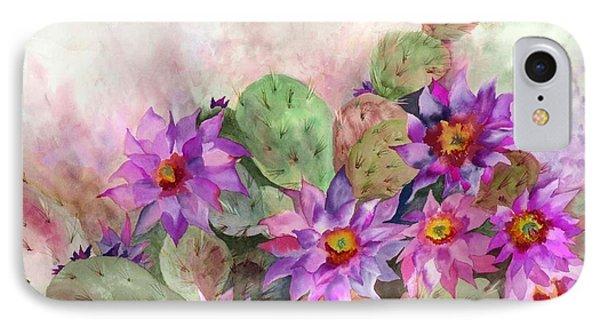 Cactus Garden IPhone Case by Neela Pushparaj