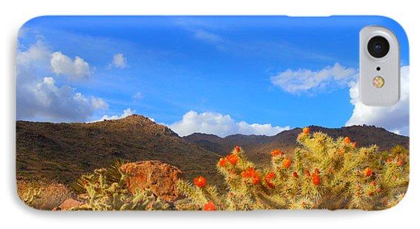 Cactus In Spring IPhone Case