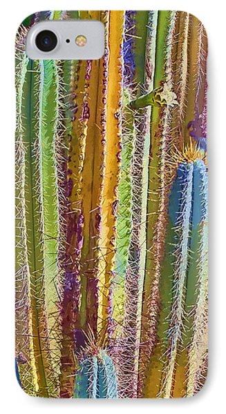 Cactus Phone Case by Marcia Colelli