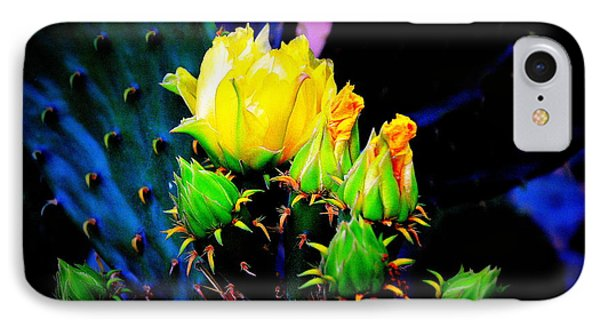 IPhone Case featuring the photograph Cactus Rose by Antonia Citrino