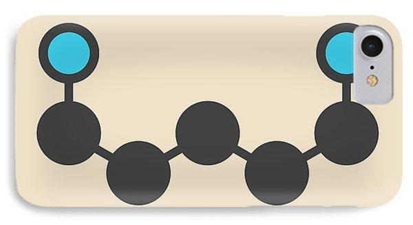 Cadaverine Foul Smelling Molecule IPhone Case by Molekuul