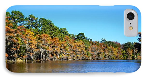 Caddo Lake 1 IPhone Case by Ricardo J Ruiz de Porras