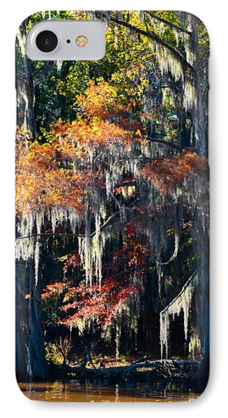 Caddo Lake 40 IPhone Case by Ricardo J Ruiz de Porras