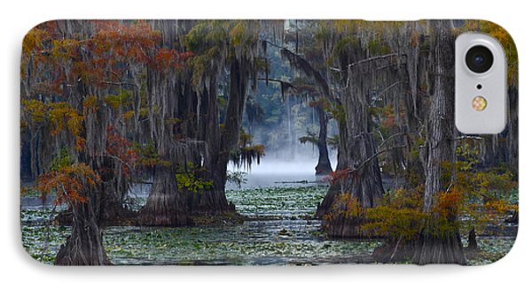 Caddo Lake Morning Phone Case by Snow White