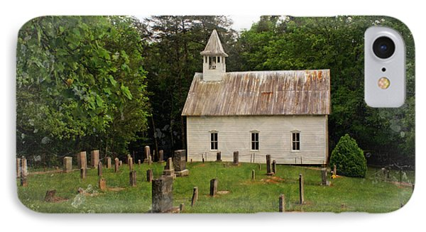 Cades Cove Church Phone Case by Marty Koch