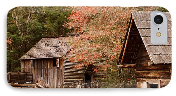 Cades Cove Grist Mill IPhone Case