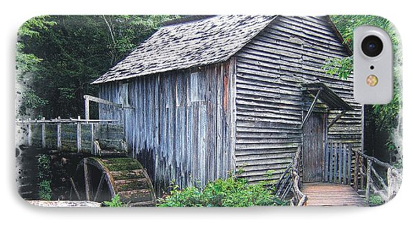 Cades Cove Mill IPhone Case