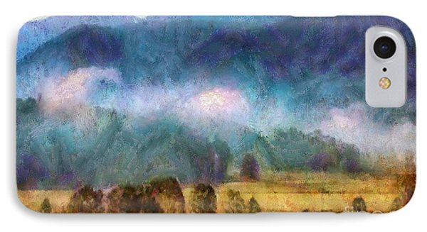 Cades Cove Tennessee  Phone Case by Elizabeth Coats