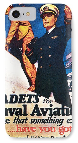 Cadets For Naval Aviation Take That IPhone Case by McClelland Barclay