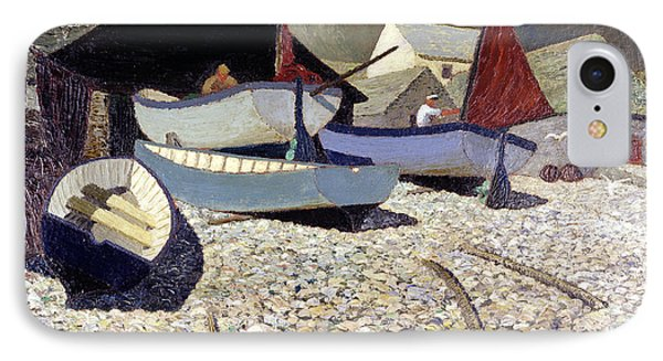 Cadgwith The Lizard IPhone Case by Eric Hains