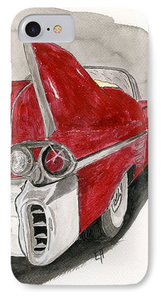 Cadillac IPhone Case by Eva Ason