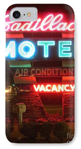 Cadillac Motel IPhone Case