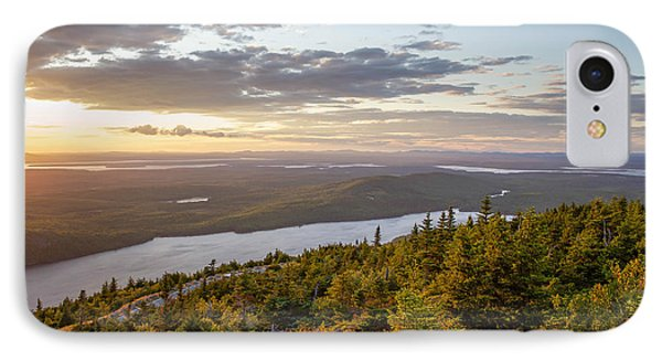 IPhone Case featuring the photograph Cadillac Mountain Sunset  by Trace Kittrell