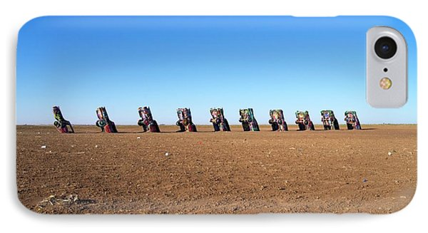 Cadillac Ranch. IPhone Case by Mark Williamson