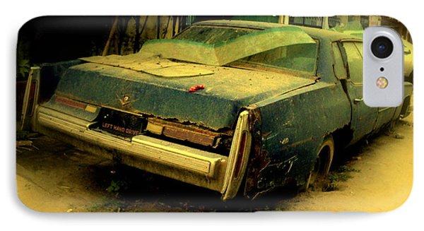 Cadillac Wreck IPhone Case by Salman Ravish