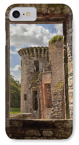 Caerlaverock Castle IPhone Case by Eunice Gibb