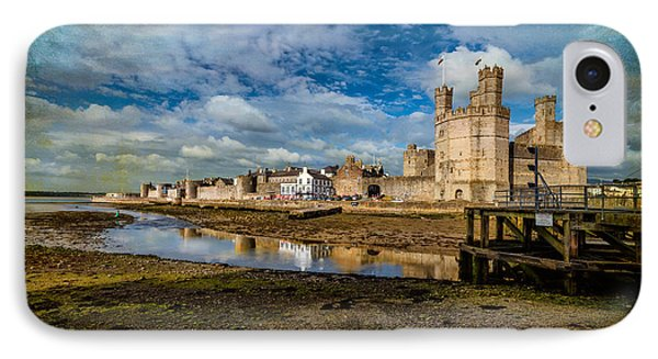 Caernarfon Castle IPhone Case