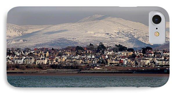 Caernarfon From The Menai Strait Phone Case by Ollie Taylor