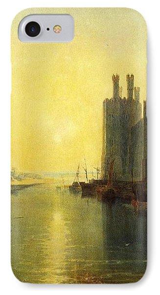 Caernarvon Castle 1799 IPhone Case by J M W Turner