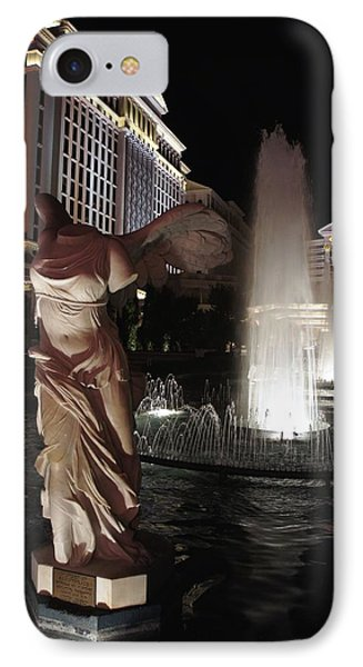 Caesars Fountain Phone Case by Jenny Hudson