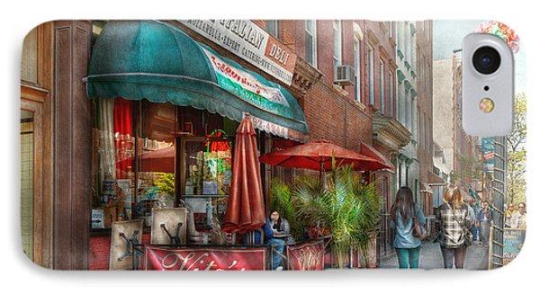 Cafe - Hoboken Nj - Vito's Italian Deli  Phone Case by Mike Savad